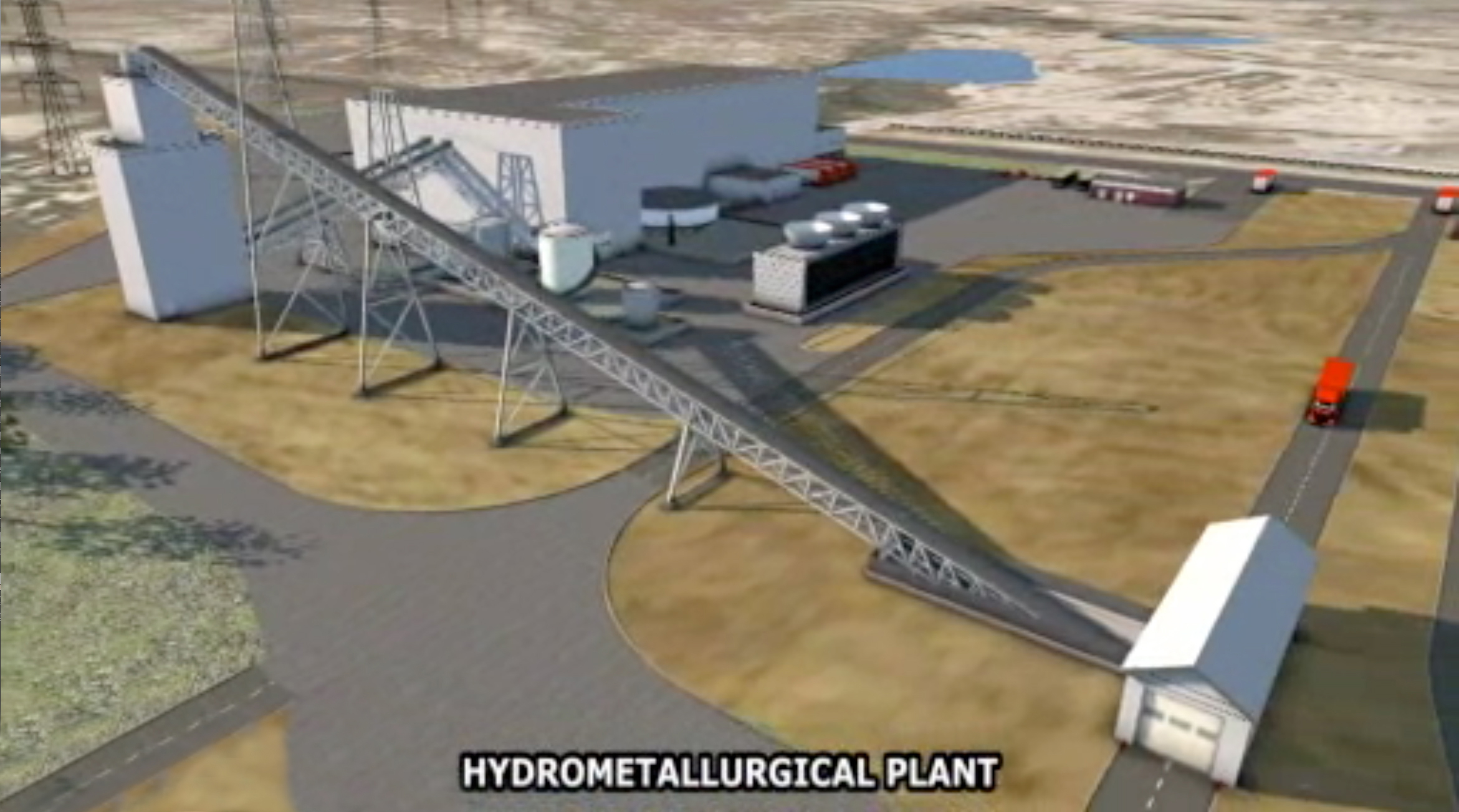 Proposed Hydromet Plant – Upton, WY
